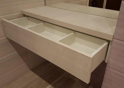 Шкафове за баня с ламинатно покритие (2)
