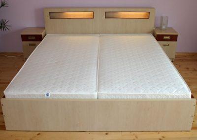 2102. Спалня по поръчка от ПДЧ бреза и калвадос