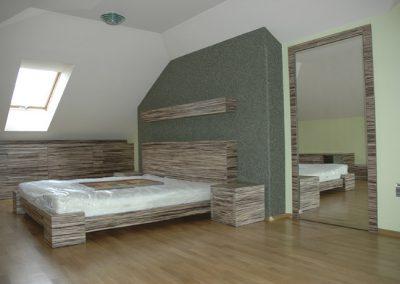 2106. Обзавеждане за спалня по поръчка от ПДЧ зебрано