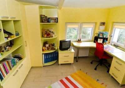 2420. Обзавеждане за детска стая по поръчка от ПДЧ резеда и бежoво