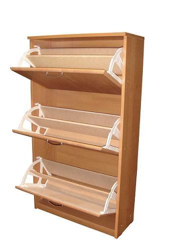 2622. Шкаф за обувки по поръчка с двуредов механизъм