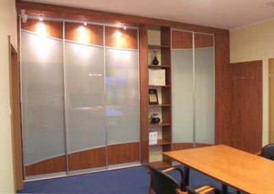 2704. Офис мебели по поръчка от ПДЧ калвадос