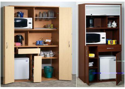 2706. Компактни кухненски модули за офис по поръчка