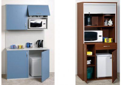 2711. Компактни кухненски модули за офис по поръчка