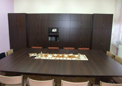 2712. Офис мебели по поръчка ПДЧ венге