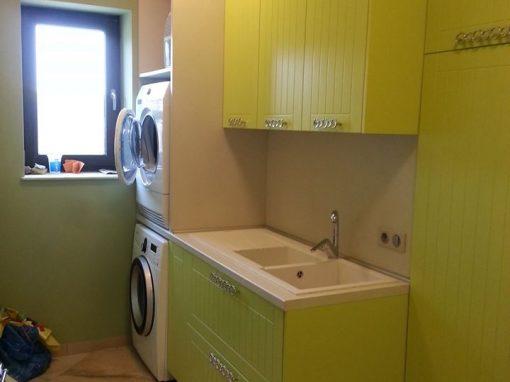 Обзавеждане за перално помещение по поръчка