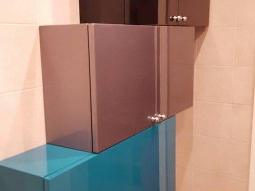 Шкафове и огледала за баня по поръчка