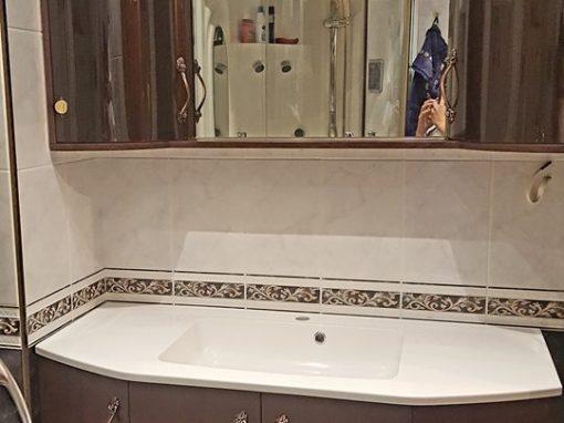 Шкафове за баня от МДФ по поръчка