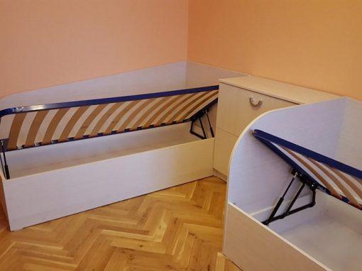 Спалня с две легла по поръчка